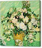 Van Gogh's Roses Canvas Print