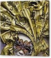 Venetian Carnaval Mask Canvas Print