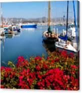 Ventura Harbor Canvas Print