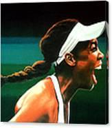 Venus Williams Canvas Print