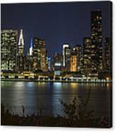 View From Gantry Plaza State Park Canvas Print