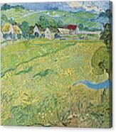 View Of Vessenots Near Auvers Canvas Print