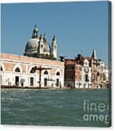 View On Venice Canvas Print