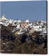 Views Of Santorini Greece Canvas Print