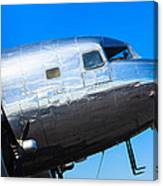 Vintage Airplane Canvas Print