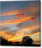 Evening Washington Monument Canvas Print
