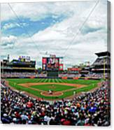 Washington Nationals V Atlanta Braves Canvas Print