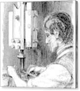 Watchmaker, 1869 Canvas Print