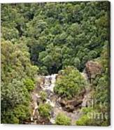 Waterfall Valley Canvas Print