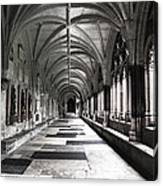 Westminister Abbey Cloister Canvas Print