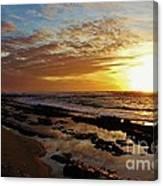 Westside Sunset Canvas Print