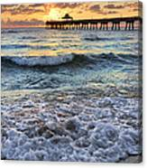 Whipped Cream Canvas Print