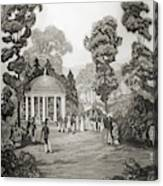 White Sulphur Springs Canvas Print