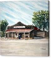 Whoa Tavern Canvas Print