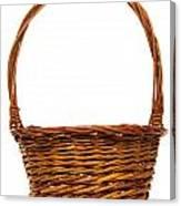 Wicker Basket Number Twelve Canvas Print