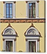 Windows Of Tuscany Canvas Print