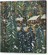 Winter Has Come To Door County. Canvas Print