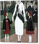 Women's Fashion, 1920 Canvas Print