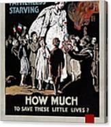 World War I: Red Cross Canvas Print