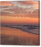 Wrightsville Beach At Sunrise Canvas Print