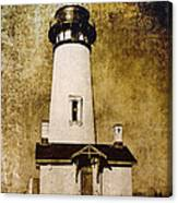Yaquina Head Lighthouse - Oregon Canvas Print