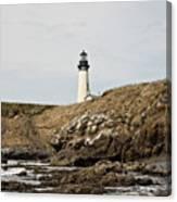 Yaquina Head Lighthouse - Pov 1 Canvas Print