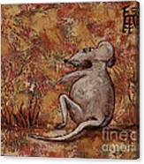 Year Of The Rat Canvas Print
