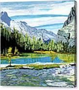 Yoho Valley Canvas Print