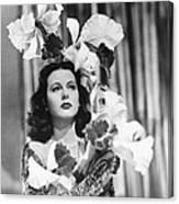 Ziegfeld Girl, Hedy Lamarr, 1941 Canvas Print