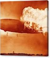 Hindenburg Disaster Canvas Print