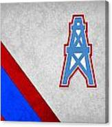 Houston Oilers Canvas Print