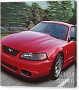 2001 Ford Mustang Cobra Canvas Print
