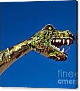 2015 Rose Parade Float Showing A Dragon 15rp040 Canvas Print
