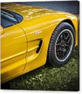 2002 Chevrolet Corvette Z06 Canvas Print