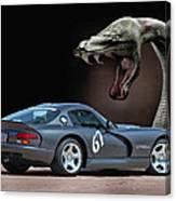 2002 Dodge Viper Canvas Print