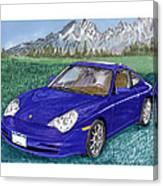 2002 Porsche 996 Canvas Print