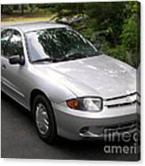 2003 Chevy Cavalier Passager Side Front Canvas Print