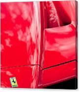 2003 Ferrari Enzo Hood Emblem Canvas Print