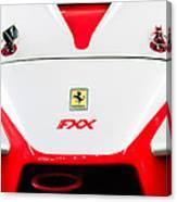 2005 Ferrari Fxx Evoluzione Hood Emblem Canvas Print