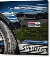 2007 Ford Mustang Shelby Gt500 Painted   Canvas Print