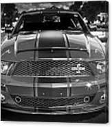 2007 Ford Mustang Shelbygt 500 427 Bw Canvas Print
