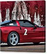 2008 Corvette Canvas Print