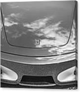 2008 Ferrari F430 Bw Canvas Print