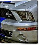 2008 Ford Mustang Shelby Grill Headlight Canvas Print