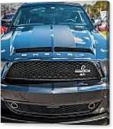 2008 Ford Shelby Mustang Gt500 Kr Painted Canvas Print