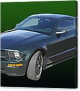 2008 Mustang Bullitt Canvas Print