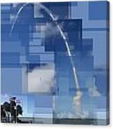 2008 Space Shuttle Launch Canvas Print