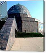 2009 Adler Planetarium With Glass Sky Pavilion II Chicago Il Usa Canvas Print