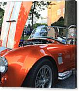 2009 Cobra Front And Side View Canvas Print