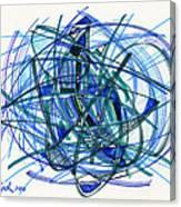 2010 Abstract Drawing 22 Canvas Print